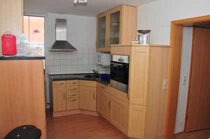 Cocina del apartamento de vacaciones