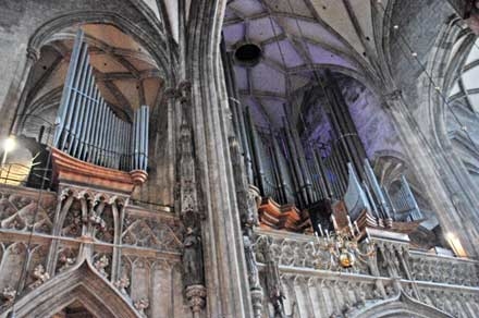Orgel Stephandom Wien